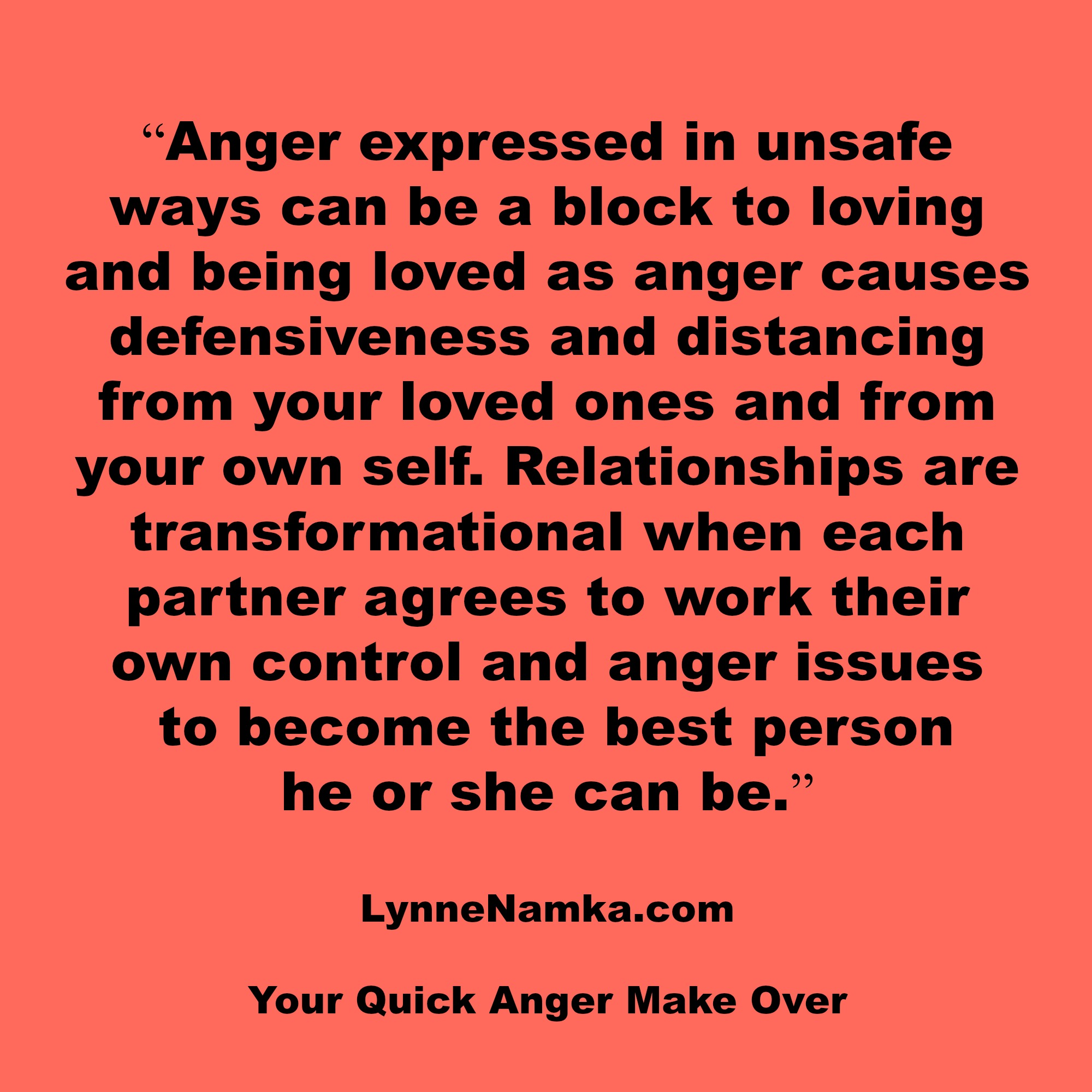anger and relationships